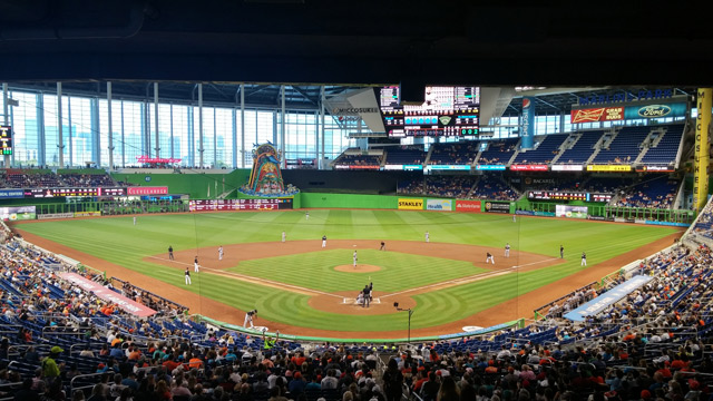 Florida Marlins Park May 16th 2015 by D Ramey Logan